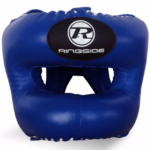 Ringside Pro Training Bar Head Guard - Blue/White
